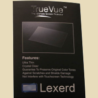Overhead Monitor - 2012 Chrysler Town & Country Screen Protector